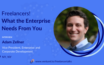 Adam Zellner, What the Enterprise Needs From You